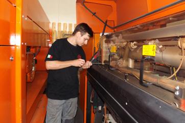 Assistenza tecnica impianti laser